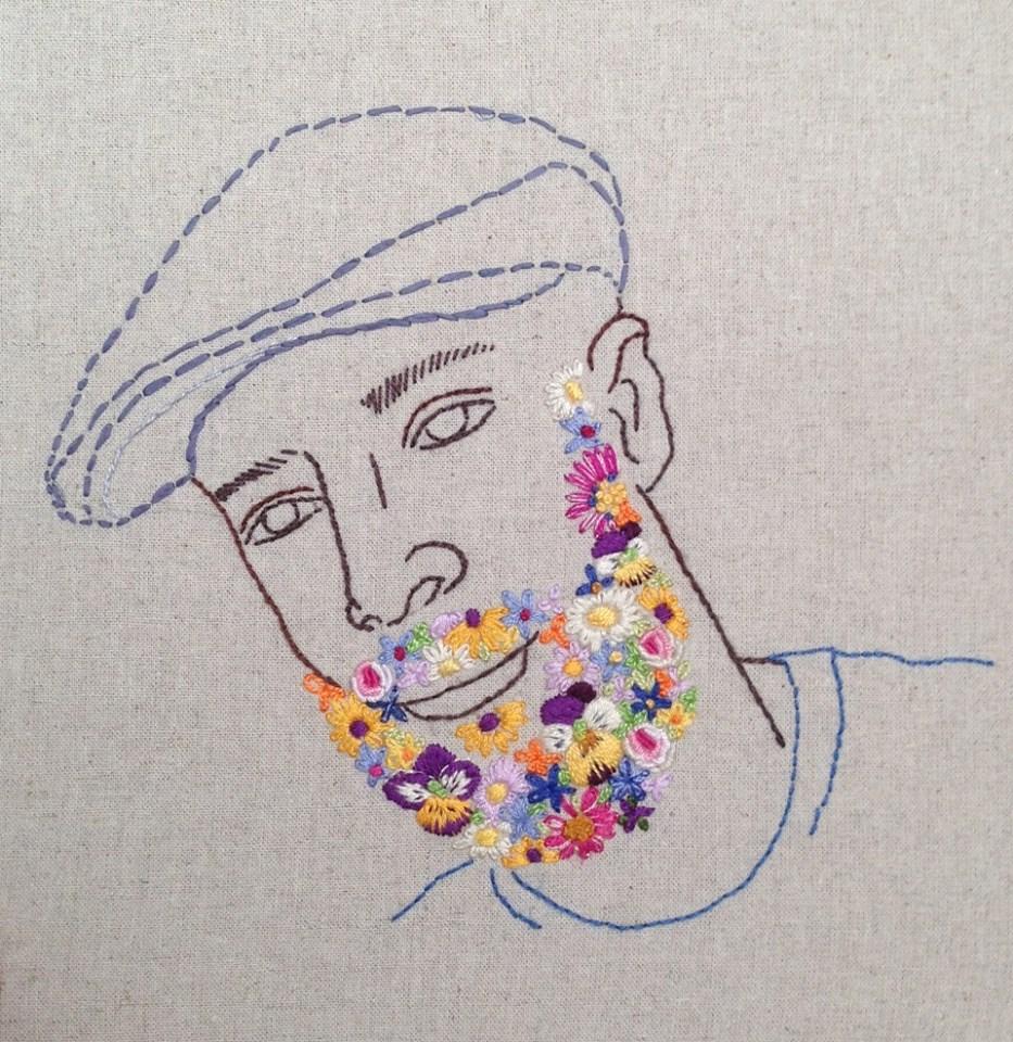Women's Work: Artist Rebecca Levi Tackles Gender Roles, in Yarn