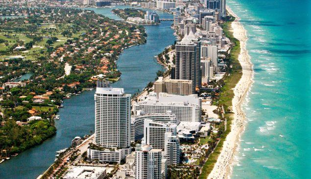 Miami Beach Coast, Florida (Photo via Getty Images)