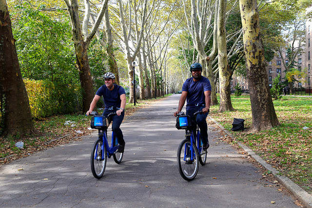 On the Market: Citi Bike Looks to Expand to Jersey City; Barclay's Green Rood Leaks