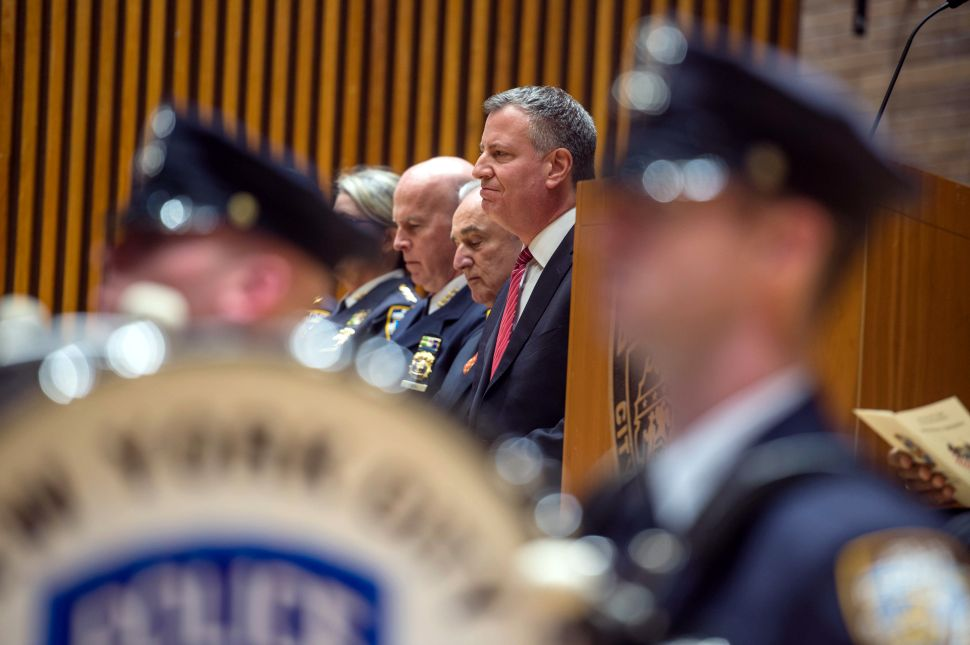 For Mayor Bill de Blasio, a 'Year One' With a Tragic Ending