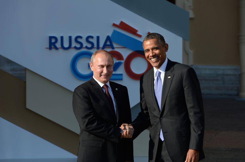 Russians Rage Against America