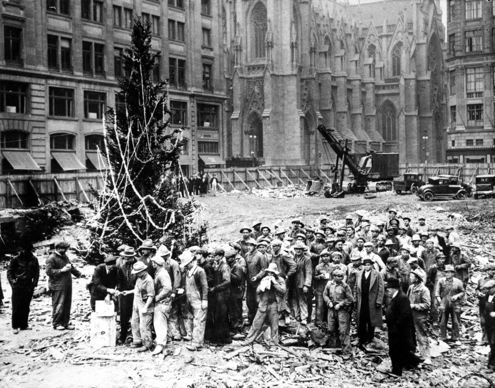 Christmas Past and Present at the Rockefeller Tree