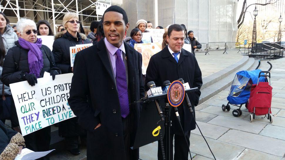 Democrats Push Bill to Help Domestic Violence Victims Land NYCHA Housing