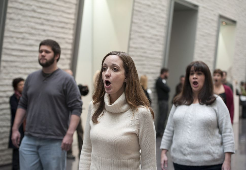 Allora & Calzadilla Fill Two Philly Museums With Choir Mashups and Whale Bone Songs