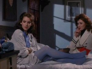 "Winona Ryder in ""Heathers."""