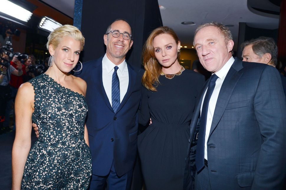 Stella McCartney and 'Hunger Games' Dinner Parties Deliver