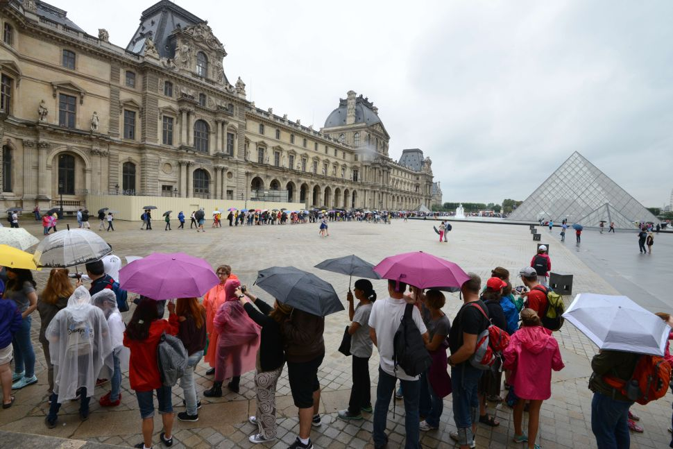 Art at the Louvre Damaged After Heavy Rains