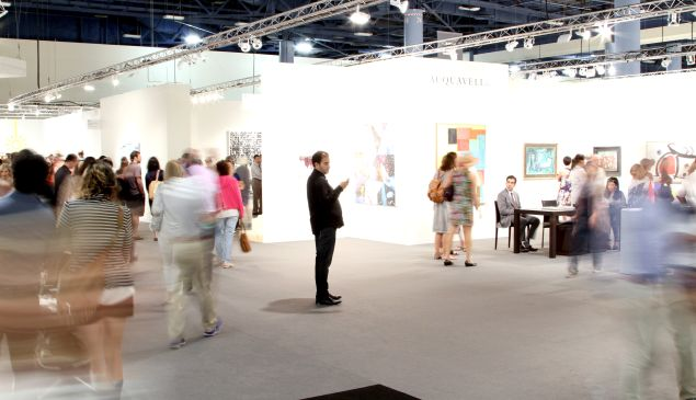 The VIP preview of Art Basel Miami Beach 2014.