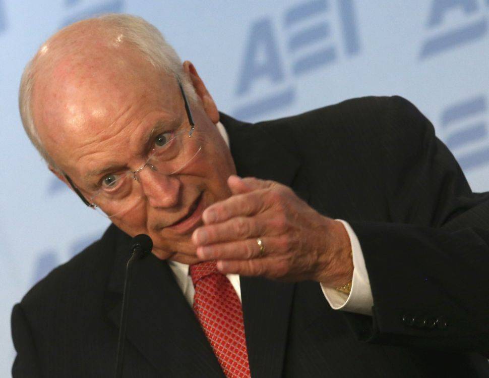 Look, Dick Cheney's Back. And Republicans Want To Hide.
