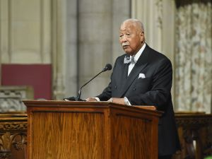 Former Mayor David Dinkins. (Photo: Mike Coppola/Getty Images)