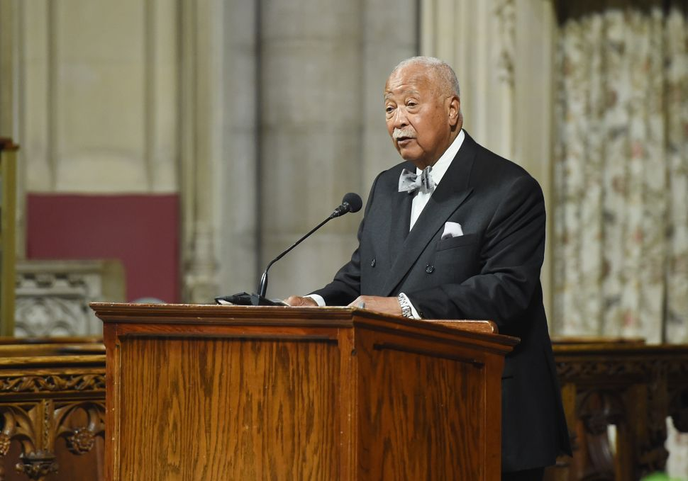 Bill de Blasio to Rename Municipal Building for David Dinkins