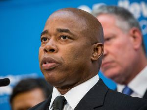 Brooklyn Borough President Eric Adams. (Andrew Burton/Getty Images)