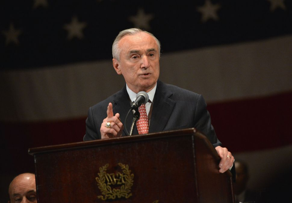 Bratton: Raising Resisting Arrest to a Felony Would Be 'Very Helpful'