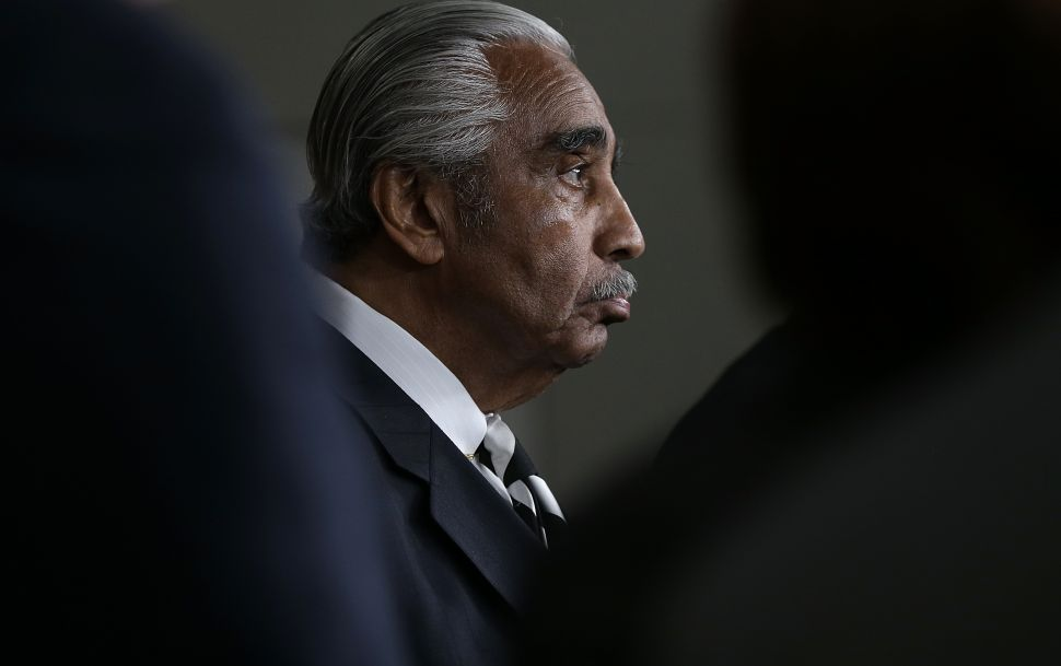 Rangel Sees Racism in Southern, White, Tea Party Critics of Obama