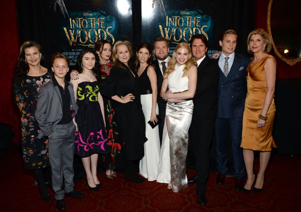 From Ages 13 to 65, the Stars of 'Into the Woods' Ruled the Red Carpet Last Night