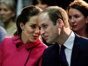 The Duke and Duchess of Cambridge attend a show while visiting 'The Door' organization in NYC. (Getty/Pool)