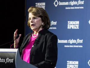 Senator Dianne Feinstein (D-CA), chair of the Senate Intelligence Committee. (Drew Angerer/Getty Images)