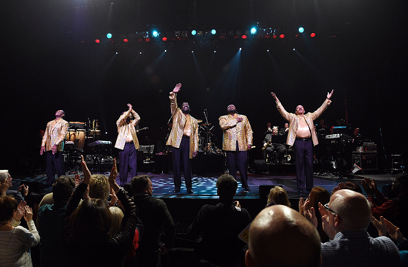 The Temptations Raise the Temperature at the Palace with The Four Tops