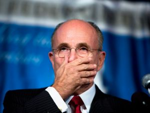 Former Mayor Rudolph Giuliani.