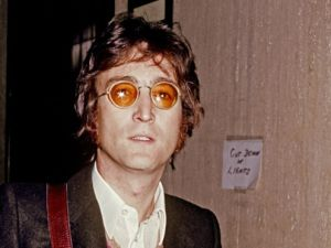"""John Lennon during his """"Lost weekend"""" in Los Angeles, 1974. (Photo courtesy Getty Images)"""