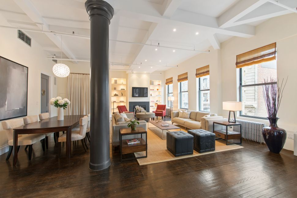Flatiron Fix: A Penthouse With Water Tower Views and a Suburban-sized Kitchen