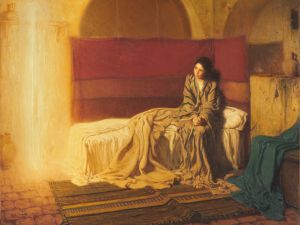 The Annunciation, (1898), Henry Ossawa Tanner. (Courtesy the Philadelphia Museum of Art, Purchased with the W. P. Wilstach Fund, 1899)