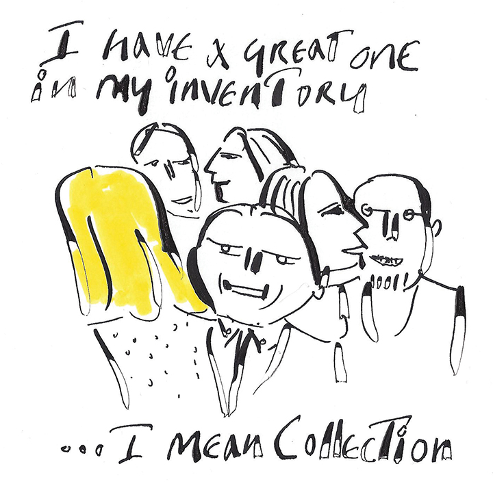 Anthony Haden-Guest Sums Up Art Basel Miami Beach With 9 Original Cartoons