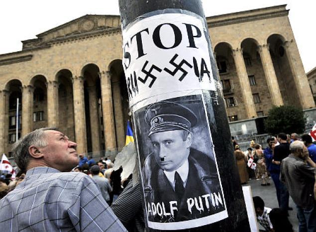 Is Vladimir Putin a Wimp or a Russian Hitler?
