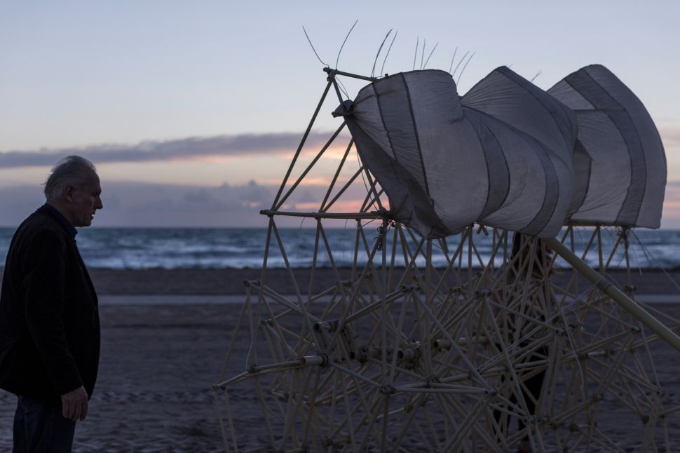 Giant Mechanical Creatures Confound Visitors to South Beach