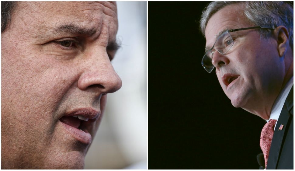 Pre-primary race scorecard: Christie losing to Bush on home turf?