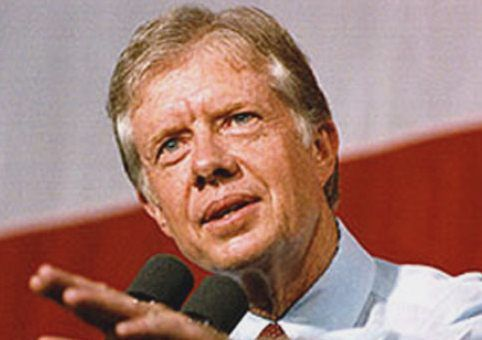 In Princeton, Carter takes foreign policy swipe at Obama
