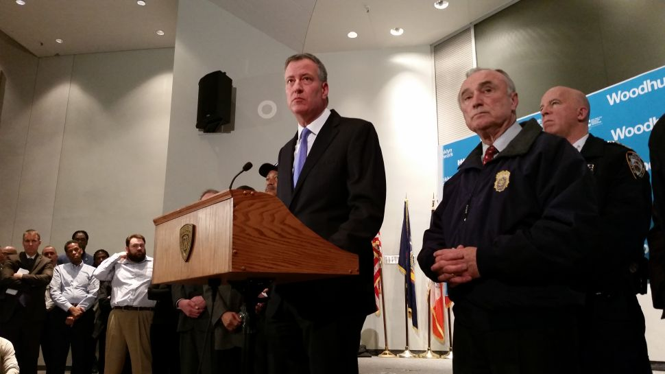 De Blasio Calls Assassination of Police an 'Attack on Everything We Hold Dear'