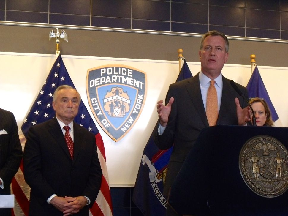 De Blasio: 'No Doubt That Some Tragedies Will Be Averted' With NYPD Retraining
