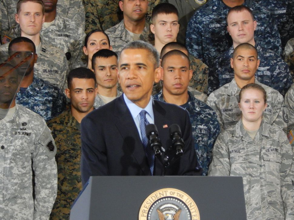 Obama at Joint Base McGuire: 'We stand united'