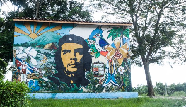 Along the A1 highway between Havana and Trinidad, Cuba August, 2014 PHOTO: Emily Assiran/New York Observer