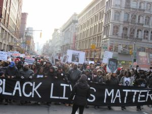 Millions March protesters.