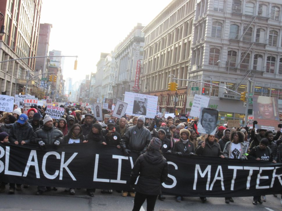 Tens of Thousands Protest Eric Garner Death, NYPD in 'Millions March'