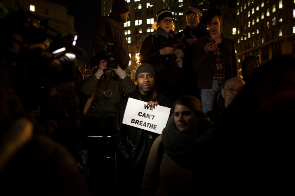 After Huge Demonstration, Bratton Expects Eric Garner Protests to 'Peter Out'