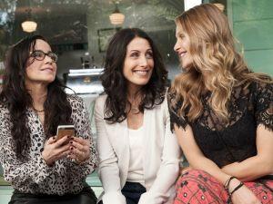 Janeane Garofalo, Lisa Edelstein and Beau Garrett in Girlfriends' Guide to Divorce. (Bravo)