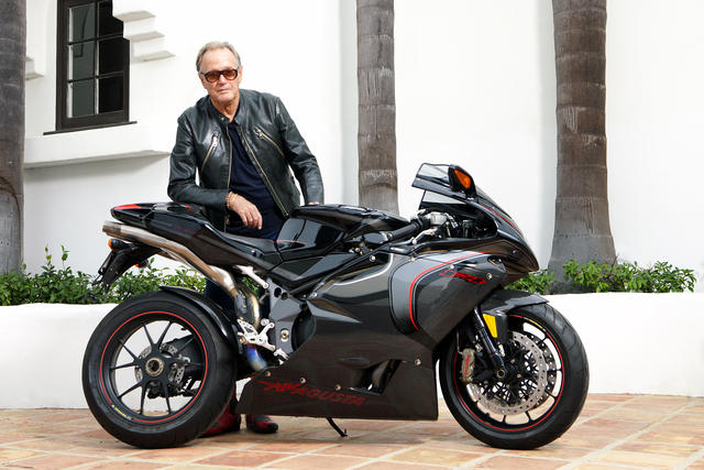 Hogging it: This is Your Long-Awaited Chance to Own Peter Fonda's Motorcycle