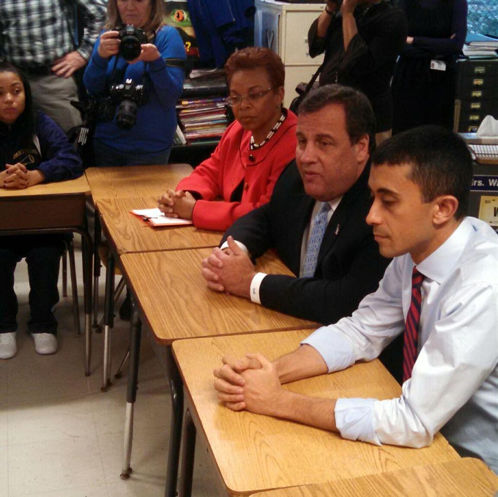 Christie announces $50 million in SDA funds to 'rehabilitate' Camden High