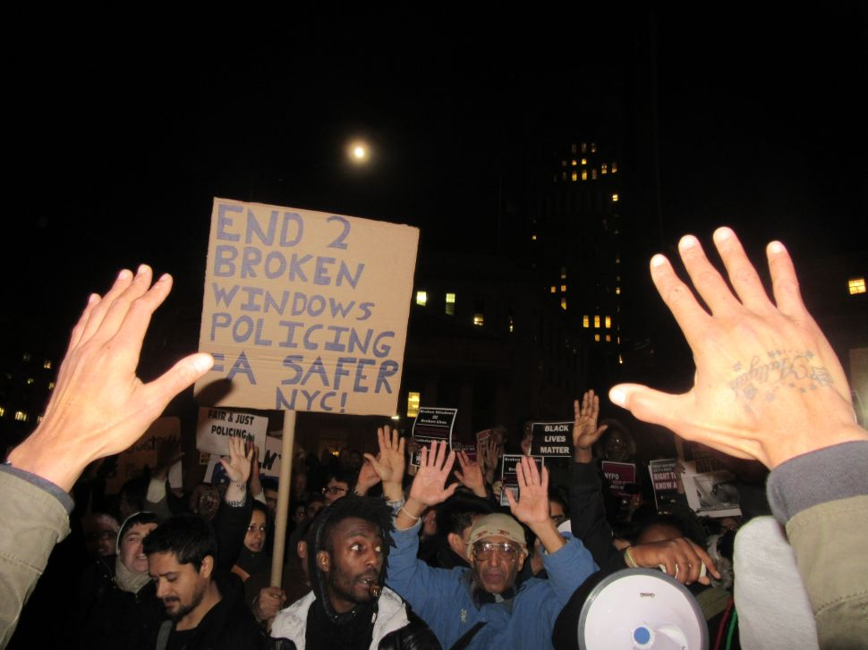 Once More, Thousands of Garner Protesters Flood Manhattan