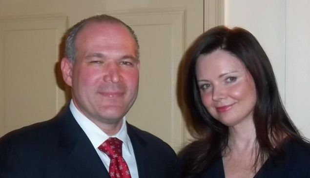 New York Republican County Committee Chair Daniel Isaacs, left, with a counterpart from Indiana (Photo: Facebook).