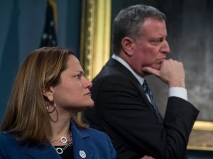 Council Speaker Melissa Mark-Viverito and Mayor Bill de Blasio would both get raises under a commission's proposal.