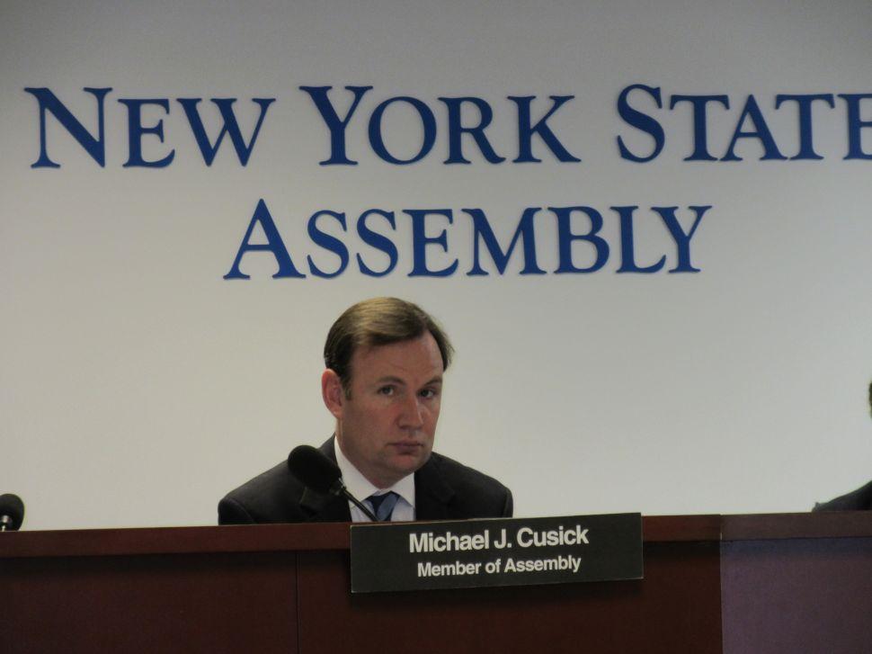 Assemblyman Cusick 'Won't Shut the Door' On Run for Grimm Seat