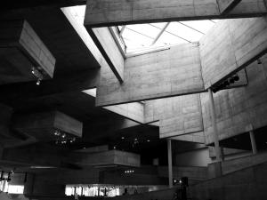 Brutalism in concrete: the Berkley Art Museum. (Courtesy the Berkley Art Museum)