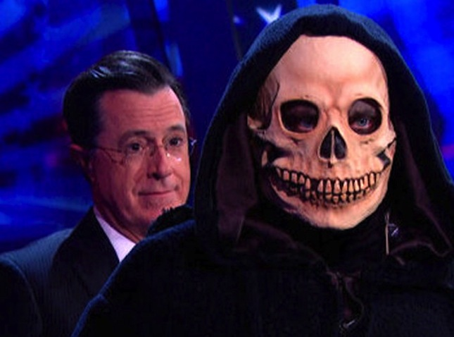 'The Colbert Show Over?!?' An Email From Your Dad