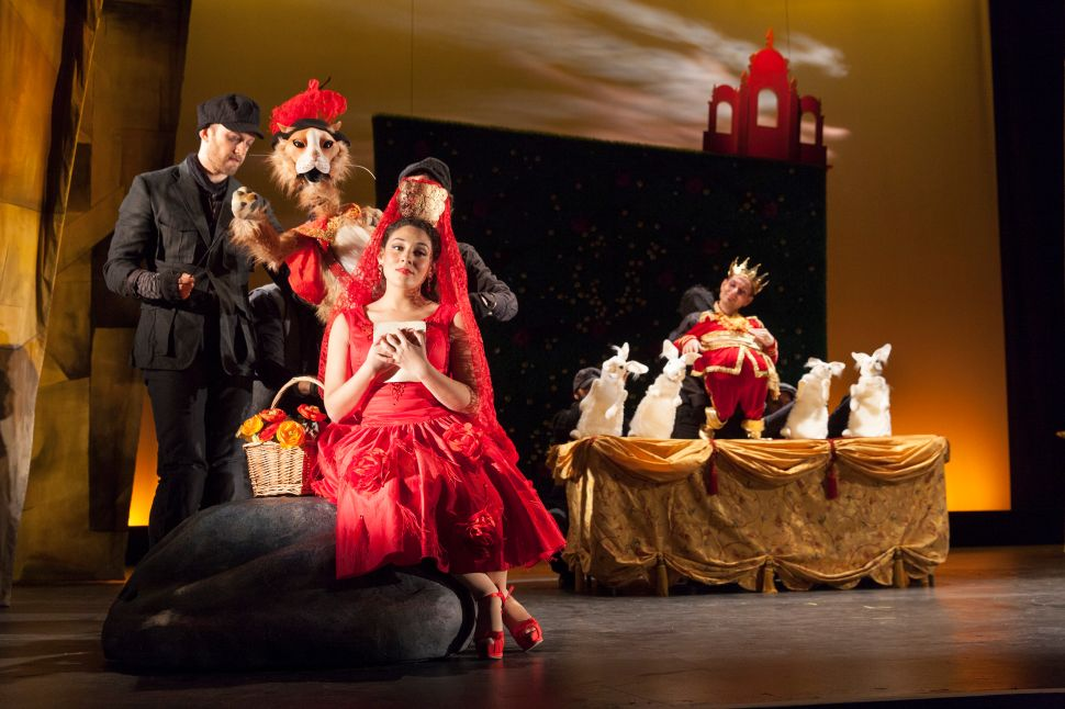 A Politically Complicated Wagner and a Winsome Retelling of 'Puss in Boots'