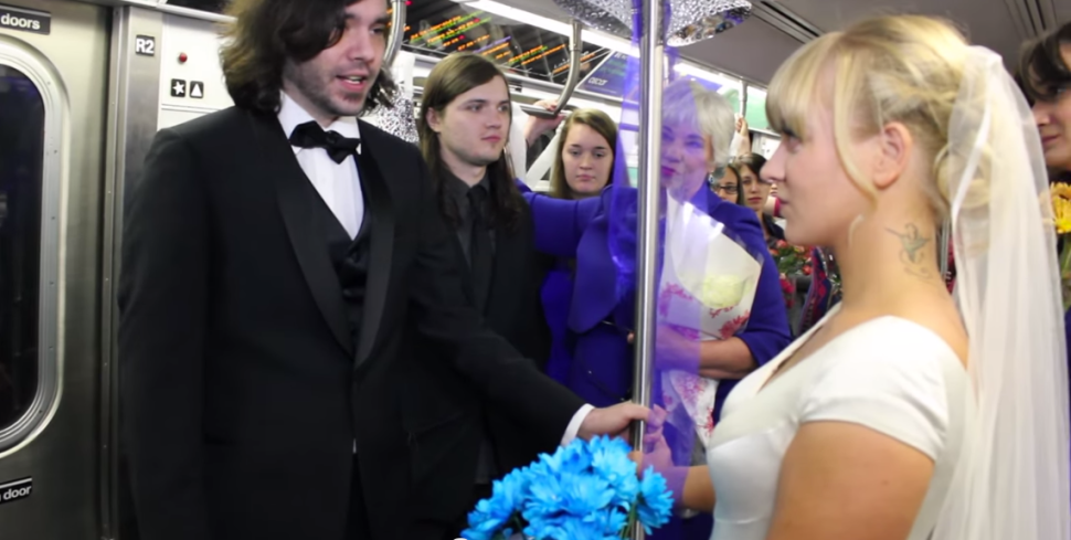 Couple Gets Hitched on the N Train: Here Are NYC's Most Unorthodox Weddings