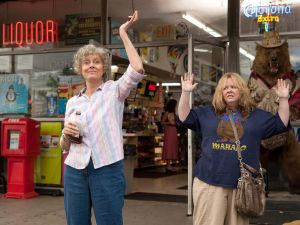 Susan Sarandon, left, and Melissa McCarthy in Tammy.